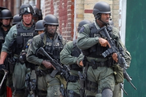 Militarization of police