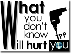 TPP What you don't know, will hurt you